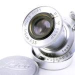 LEICA ライカ Elmar ブルーコーテッド赤エルマー 50mmF3.5 L  ダイヤマーク
