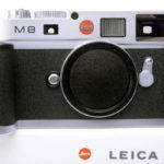 LEICA ライカ M8 デジタル シルバーボディ 元箱、付属品一式 + ハンドグリップ