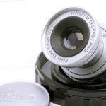 LEICA ライカ Elmar 蒼紫コーテッドエルマー 50mmF3.5 M + バブルケース