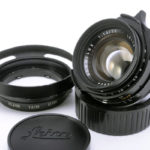 LEICA ライカ Summilux ズミルックス 35mmF1.4 第2世代 後期(ver.2)関東カメラ整備済 + 純正フード