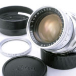 LEICA ライカ Summicron ズミクロン 固定鏡胴 50mmF2 後期型 M + UVaフィルター + 純正フード