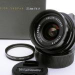 Voigtlander フォクトレンダー COLOR-SKOPAR 21mm F4P VM + フィルター + 元箱