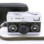 Rollei 35 Tessar ローライ テッサー 40mmF3.5 3.5/40 シルバー(中村光学OH済)