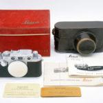 LEICA ライカ バルナック IIIf 3f RD レッドダイヤル 1954年製 (整備済)+元箱+取説(独)+革ケース