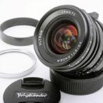 Voigtlander フォクトレンダー ULTRON ウルトロン 28mm F2 VM + 純正フード