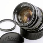 LEICA ライカ Summicron ズミクロン 50mmF2 第2世代 + フィルター