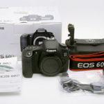 CANON キャノン EOS 60D ボディ 元箱一式 + バッテリーグリップBG-E9