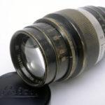 LEICA ライカ Leitz Hektor ヘクトール 73mmF1.9 L ブラック&ニッケル