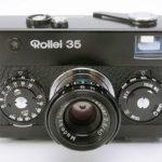 Rollei 35 Tessar ローライ テッサー 40mmF3.5 3.5/40 ブラック(整備済)