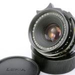LEICA ライカ Summicron ズミクロン 35mmF2 第2世代 前期 ツノ付