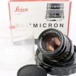 LEICA ライカ Summicron ズミクロン 50mmF2 第2世代 + 元箱 + バブルケース