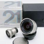 CONTAX コンタックス Carl Zeiss カールツァイス Biogon ビオゴン 21mm F2.8 T* for G1 G2 + ファインダー