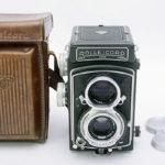 ROLLEICORD Ⅴ ローライコード Xenar クセナー75mm F3.5 + 純正革ケース