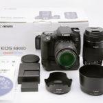 Canon デジタル一眼レフカメラ EOS 8000D ボディ 2420万画素 ダブルズームキット