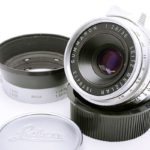 LEICA ライカ Summaron パープル ズマロン 35mmF2.8 M/L両用 + IROOAフード