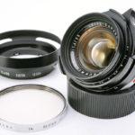 LEICA ライカ Summilux ズミルックス 35mmF1.4 第2世代 後期(ver.2)+純正フード+おまけフィルター