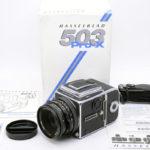 Hasselblad ハッセルブラッド 503CX Pro-X + Planar プラナー CF 80mmF2.8 T* 元箱(中村光学OH済)
