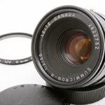 Leica ライカ Summicron ズミクロンR 50mmF2 3カム フード組込(中村光学OH済)+ UVフィルター