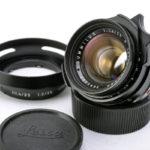 LEICA ライカ Summilux ズミルックス 35mmF1.4 第2世代 後期 ver.2(中村光学OH済)+ 純正フード