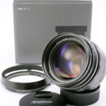 Voigtlander フォクトレンダー NOKTON ノクトン 50mm F1.1 VM + 純正フード