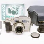 CONTAX コンタックス G2 チタンクローム + Carl Zeiss Biogon ビオゴン 2.8/28 28mm/F2.8
