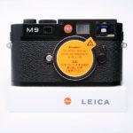 LEICA ライカ M9 デジタル 18.0 MP ブラックペイント CCD交換済 + 元箱 + 付属品一式