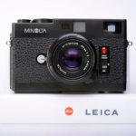 Minolta ミノルタ CLE + M-Rokkor 40mm F2 セット