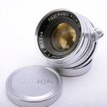 FUJIFILM 富士フィルム Fujinon 35mm f2.0 1954年 L39マウント(関東カメラ整備済)