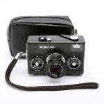 Rollei 35 Tessar ローライ テッサー 40mmF3.5 3.5/40 ブラック 黒 + ソフトケース