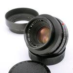 LEICA ライカ Summicron ズミクロン R 50mmf2.0 3カム + 純正メタルフード