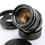 LEICA ライカ Summicron ズミクロン 50mmF2 第2世代 + 純正フード