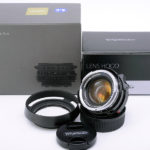 Voigtlander フォクトレンダー NOKTON ノクトン classic 35mm F1.4 SC VM + 純正フード LH-6