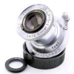 LEICA ライカ Elmar ブルーコーテッド赤エルマー 50mmF3.5 L  ダイヤマーク 1952年(中村光学OH済)