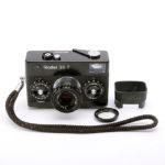 Rollei 35 T Tessar 40mmF3.5 ローライ テッサー Black 黒 + 純正フード