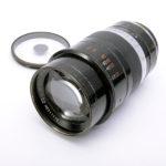 LEICA ライカ 旧 Thambar タンバール 90mm F2.2 L + センターフィルター