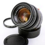 LEICA ライカ Summicron ズミクロン 50mmF2 第4世代 フード組込 ブラック + VUaフィルター