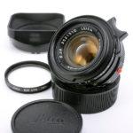 LEICA ライカ Summicronズミクロン 35mmF2 第4世代 7枚玉 ドイツ製+純正フード(中村光学OH済)