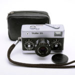 Rollei 35 Tessar ローライ テッサー 40mmF3.5 3.5/40 シルバー + ソフトケース