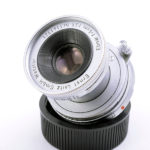 LEICA ライカ Elmar 蒼紫コーテッドエルマー 50mmF3.5 M