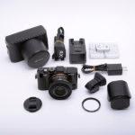 SONY Cyber-shot サイバーショット DSC-RX1R 付属品一式 + 電子ビューファインダー + 革ケース&ストラップ他