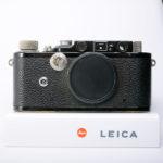 LEICA ライカ バルナック Ⅲ3 (D3) ブラックペイント 1933年製(中村光学OH済)