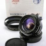 LEICA ライカ Summilux ズミルックス 35mmF1.4 第2世代 後期(ver.2)+ 元箱 + 純正フード