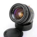 LEICA ライカ Summicron ズミクロン 50mmF2 第4世代 6枚玉 フード組込 ブラック + 元箱
