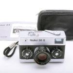 Rollei 35S Sonnar ローライ ゾナー 40mmF2.8 2.8/40 HFT シルバー+ストラップ+ポーチ+取説