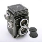 ROLLEICORD Ⅴ ローライコード Xenar クセナー75mm F3.5 + 純正キャップ