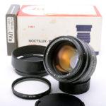 LEICA ライカ Noctilux ノクチルックス 50mm F1.0 (2nd Type-E60) 中期 + 純正フード + UVaフィルター