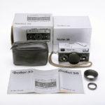 Rollei 35 Tessar ローライ テッサー 40mmF3.5 3.5/40 シルバー + 元箱
