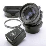 LEICA ライカ SuperAngulon スーパーアンギュロン 21mmF3.4 黒 + 専用フード  + 21mmファインダー