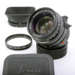 LEICA ライカ Summilxu ズミルックス 35mm F1.4 第3世代 純正フード&フィルター付属