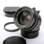 LEICA ライカ Summilxu ズミルックス 35mm F1.4 第4世代 現行モデル + 元箱一式、純正フード&UVaフィルター付属